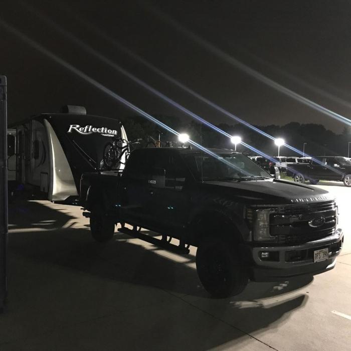 Harvest Hosts at a Ford Dealership