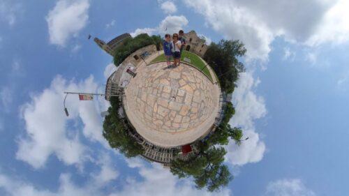 The Alamo Tiny Planet