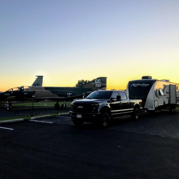 Boondocking next to F-4 Phantom